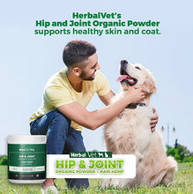 Hip & Joint Powder Supplement for Large Dogs - Certified Organic