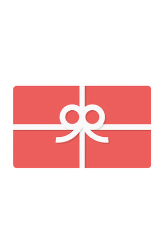 Gift Cards/ Gift Certificates $50-$1000