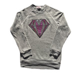 Ecofleece Diamond Sequins Patch Sweatshirt