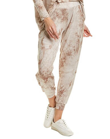 Tie dye coffee swirl lounge jogger pant  in our softest jersey