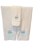 Monogrammed or personalized hand and bath towels