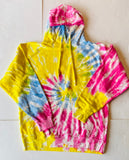Tie-Dye Hooded Sweatshirt *can be monogrammed
