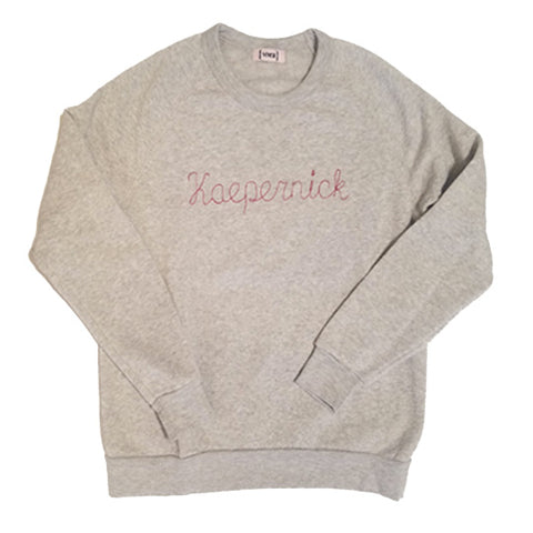 Kaepernick Sweatshirt * available in heather grey or red