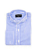 Candy Stripe – Blue - Top Button Custom Shirts Melbourne