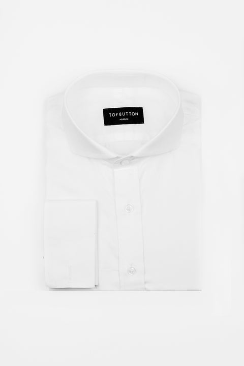 Cocktail – White - Top Button Custom Shirts Melbourne