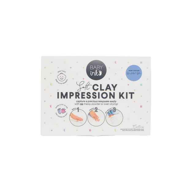 Blue - Soft Clay Impression Kit