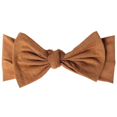 Adjustable Knit Headband - Camel