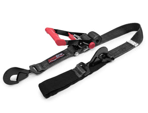 "Speed Strap 2""X 8' RATCHET TIE DOWN W/TWISTED SNAP HOOKS & AXLE STRAP COMBO"