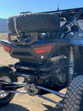 Over Bed Spare Tire Mount For Polaris RZR