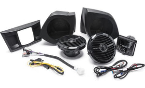 Rockford Fosgate Stage 2 Stereo and Front Speaker Kit for select YXZ® models
