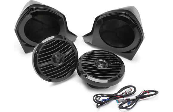 Rockford Fosgate Add-on Front Upper Speaker Kit for use with YXZ-STAGE2 and YXZ-STAGE3 Kits  YXZ-UPPER