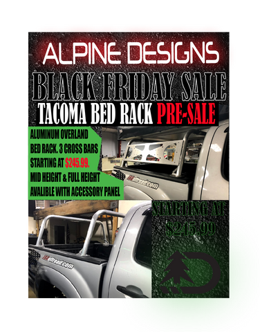 Tacoma Bed Rack   PRE-SALE