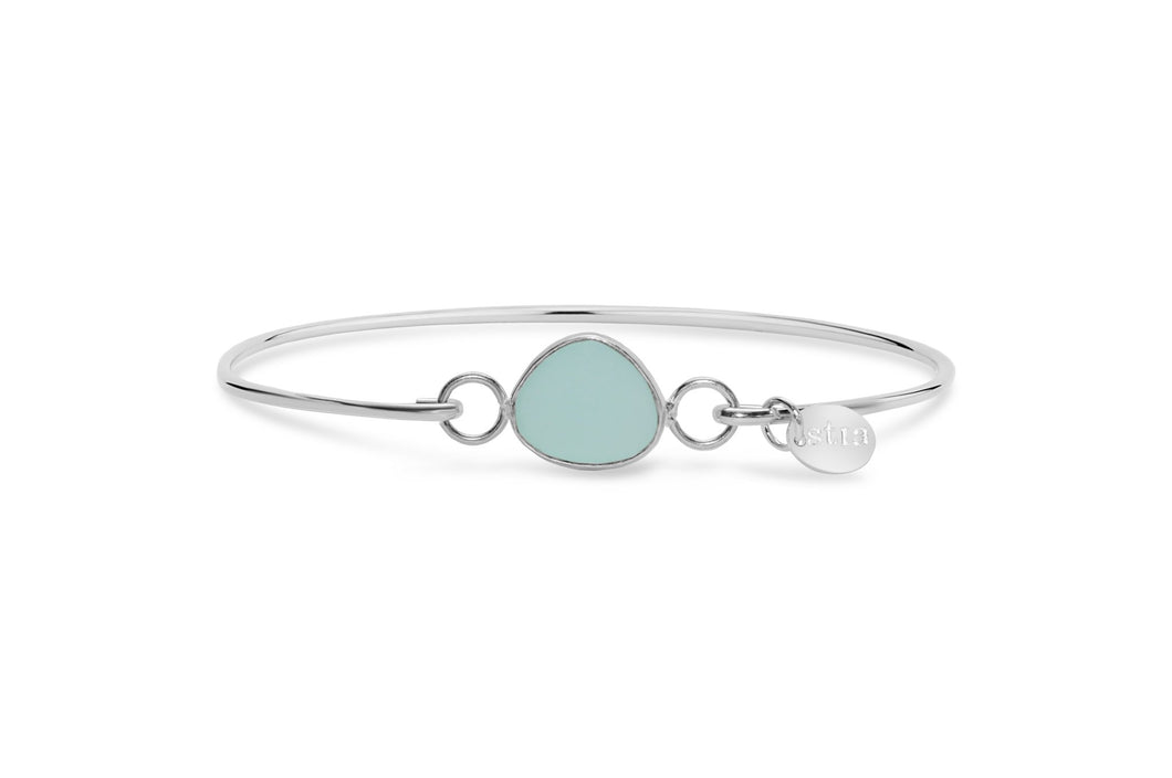 Stia Jewelry: Stia by the Sea Aqua Sea Glass Bracelet