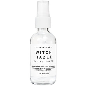 SopranoLabs - Witch Hazel Firming Mist. Organic Face Toner.