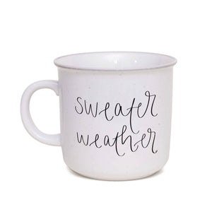 Sweet Water Decor - Sweater Weather Rustic Campfire Coffee Mug