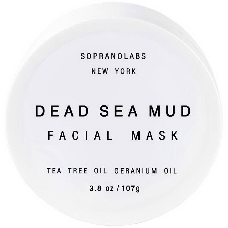 SopranoLabs - Dead Sea Mud Tea Tree Detox Mask. SPA Gift for /him