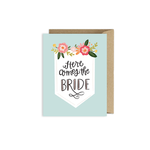 Alexa Zurcher - Here Comes the Bride Card