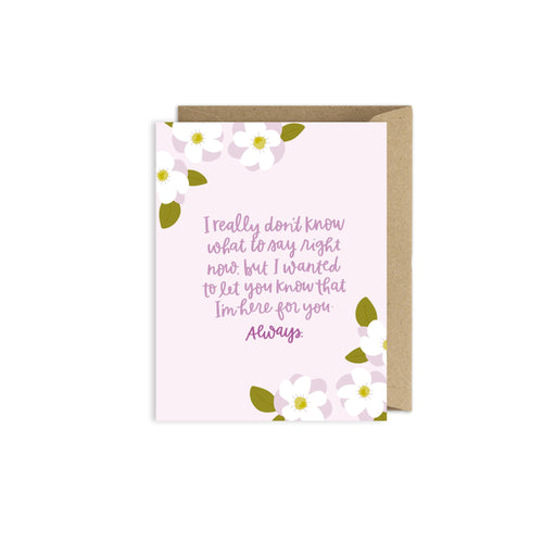Alexa Zurcher - Sympathy Card - Grief Card - Infertility Card - Cancer Card