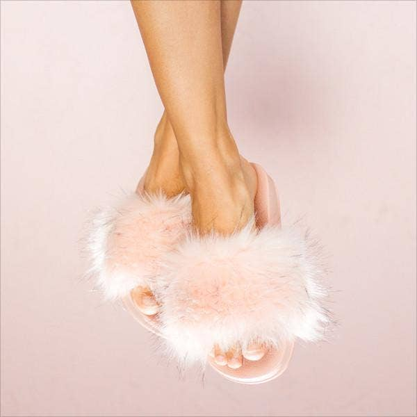 Faceplant Dreams - Furry Slides - Pink