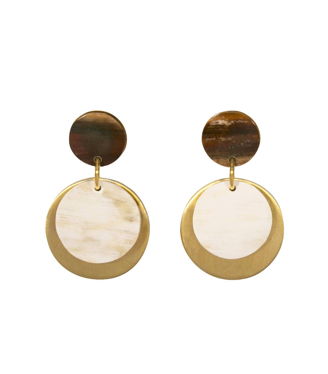 PURPOSE Jewelry - Audrey Earrings (Dark)