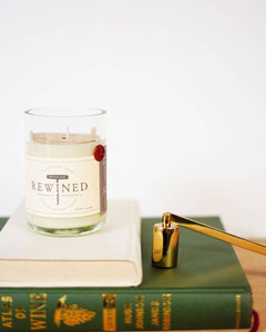Rewined - Malbec Blanc Candle