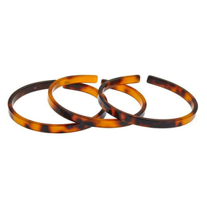 Fornash - Set of 3 Tortoise  Gretchen Bracelet