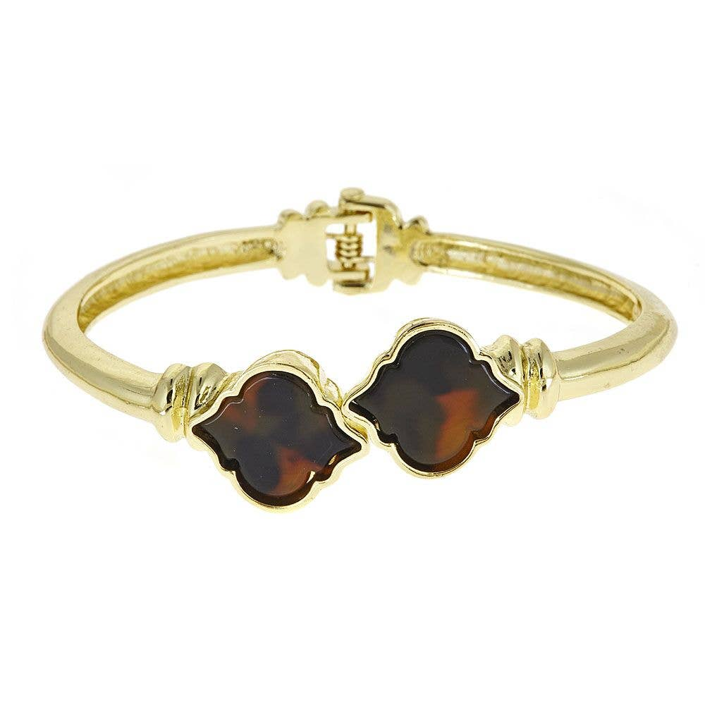 Fornash - Gold Fornash Tortoise Signature Bracelet
