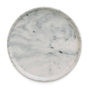 Sweet Water Decor - Large Marble Concrete Catchall Tray