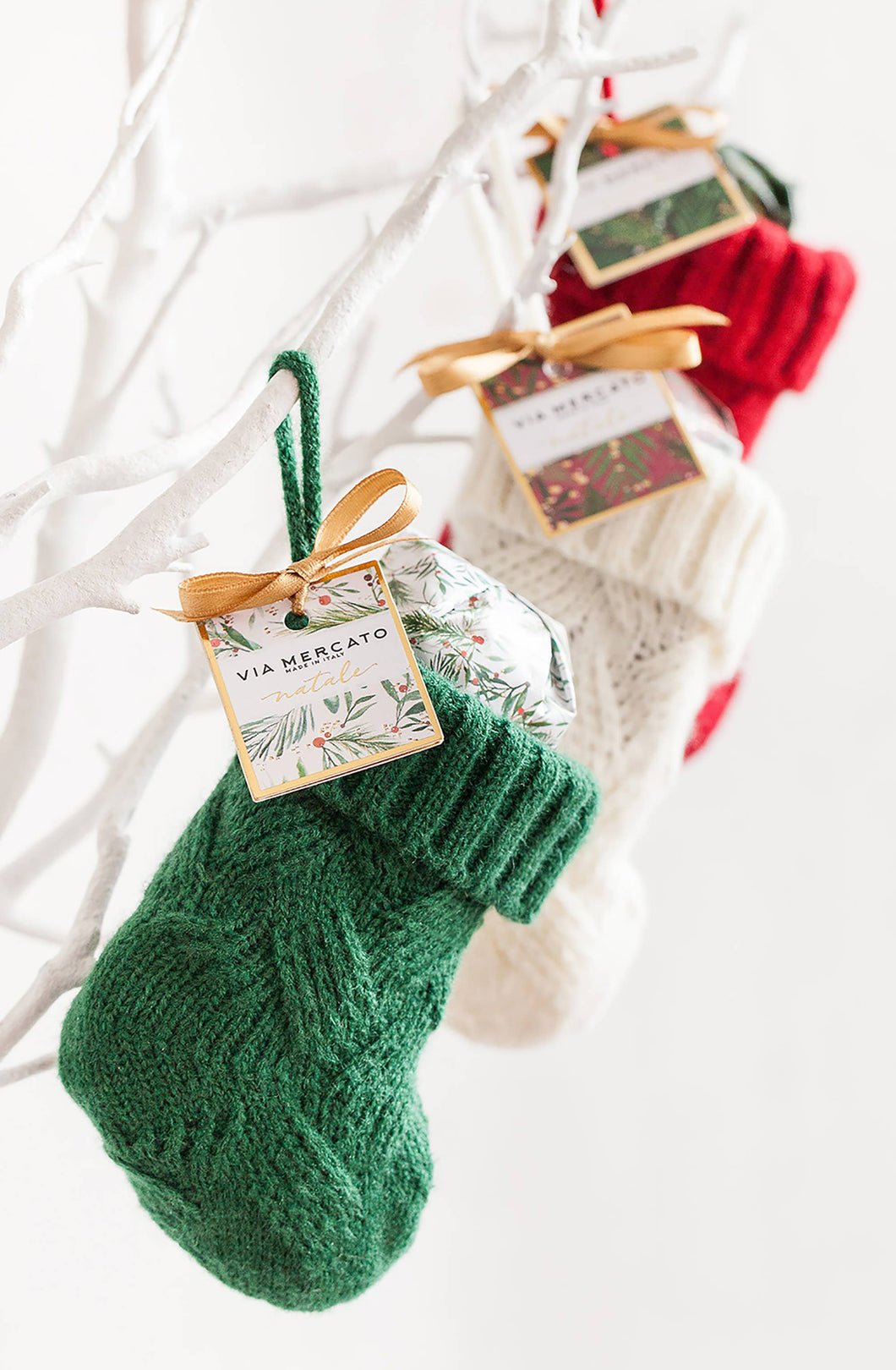 European Soaps - Mini Stocking Gift Set (100G) - Mistletoe