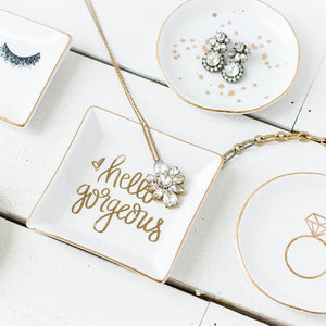 Sweet Water Decor - Mr and Mrs Jewelry Dish