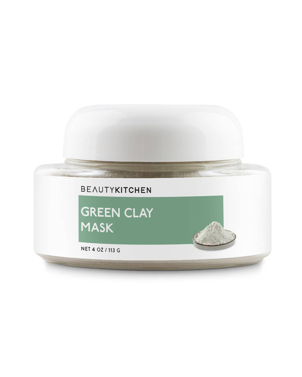 Beauty Kitchen - Pure Italian Green Clay Cleansing & Anti Aging Mask