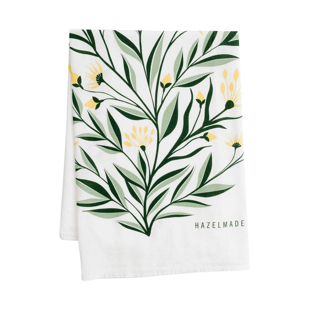 HAZELMADE - Aster Tea Towel / Kitchen Decor / Midwest Made