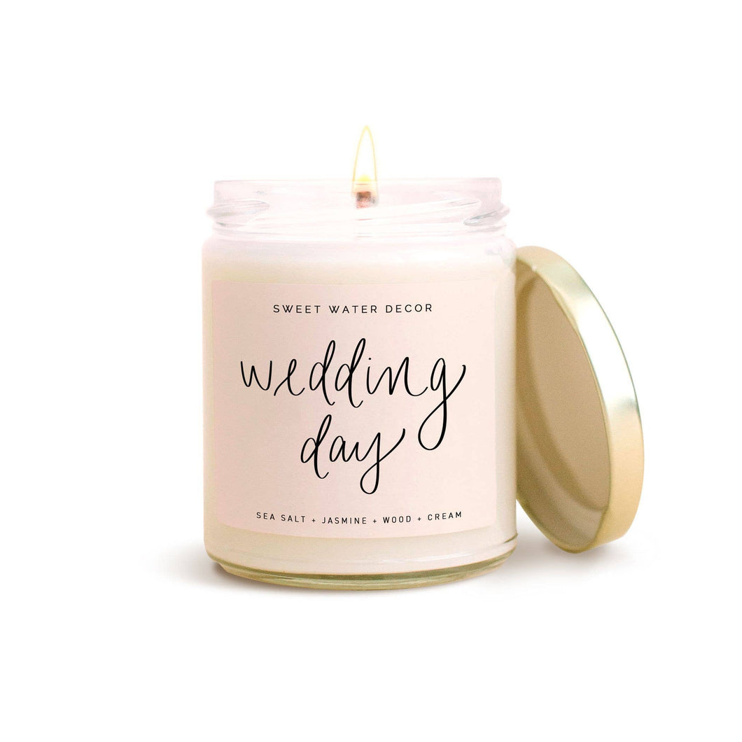 Sweet Water Decor - Wedding Day Soy Candle