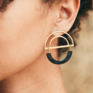 PURPOSE Jewelry - Teko Earrings