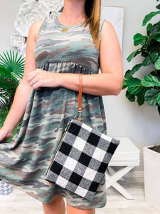 Prep Obsessed - Buffalo Check Convertible Crossbody Bags