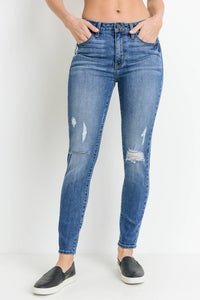 Just Black Denim - Distressed Skinny Jean