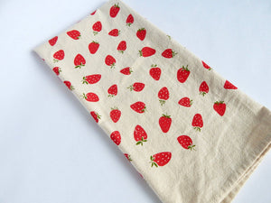 The High Fiber - *NEW* Strawberry Kitchen Towel, Tea Towel