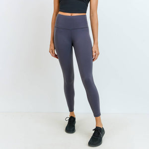 Mono B - Highwaist Lycra-Blend Essential Leggings