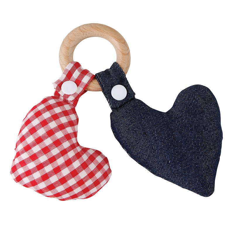 Santa Barbara Design Studio by Creative Brands - Heart Wood Teether Toy