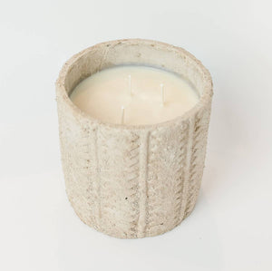 Sweet Wick Candle Company - Large Concrete Candle