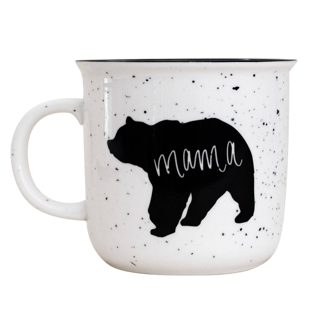 Sweet Water Decor - Mama Bear Rustic Campfire Coffee Mug