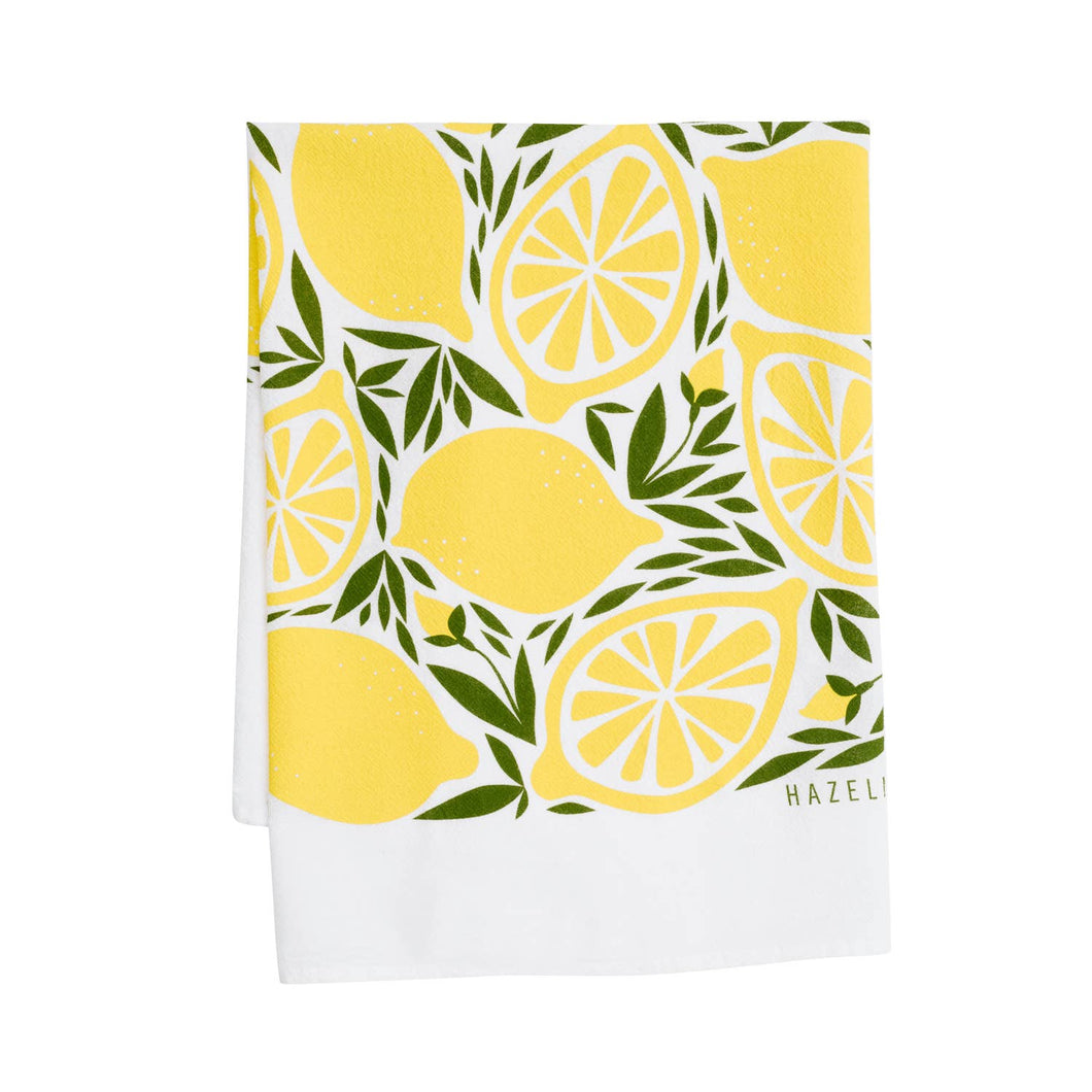 HAZELMADE - Lemon Tea Towel