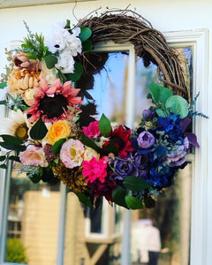 Lush Ombre Wreath