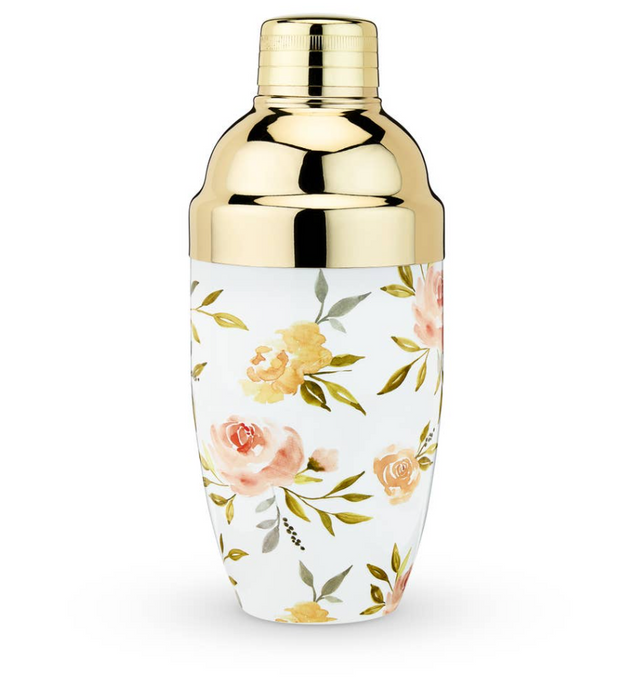 Twine - Watercolor Floral Cocktail Shaker