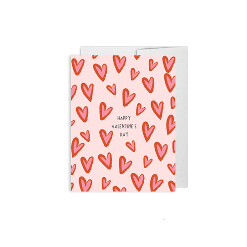 Alexa Zurcher - Happy Valentines Day Heart Card