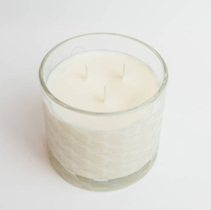 Sweet Wick Candle Company - Clear Honeycomb Candle