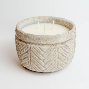 Sweet Wick Candle Company - Concrete Bowl Candle