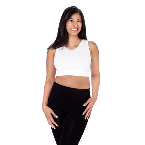 Skinnytees - Sleeveless Crop Tank