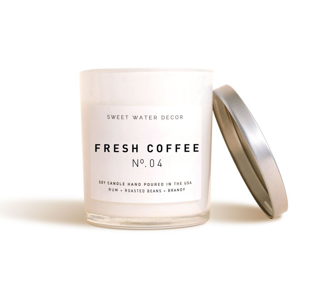 Sweet Water Decor - Fresh Coffee Soy Candle