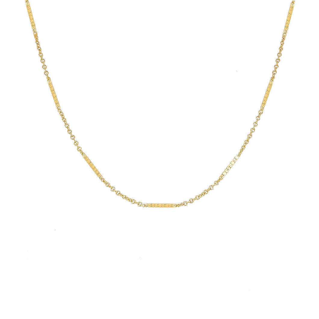 Mod + Jo - Choker - Kendal Shorty Necklace (Gold Filled)